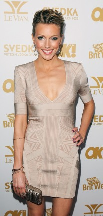 katie_cassidy_herve_leger_bandage_dress