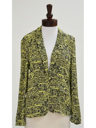 Diane von Furstenberg Victor Print Lily Jacket