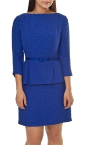 Nanette Lepore Disco Jazz Peplum Dress