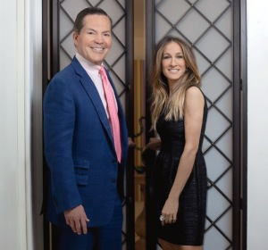 Sarah-Jessica-Parker-and-George-Malkemus-of-Manolo-Blahnik-launch-SJP-Shoes-at-Nordstrom